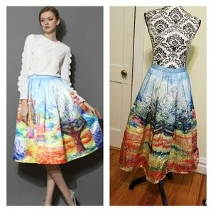 Gorgeous ChicWish L Scenic Artistic Skirt
